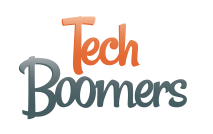 Logo of Tech Boomers.