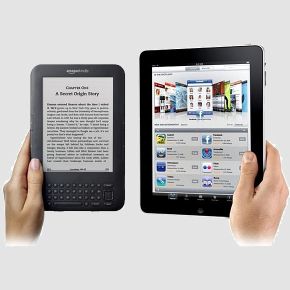 Image of Tablet and E-Reader.