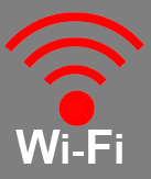 Image of the library's Wi-Fi logo.