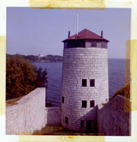 Photograph of Mortello Tower at Fort Henry in Kingston.