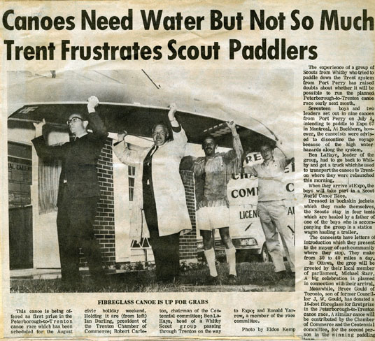 Newspaper article about the frustrations of the Scouts.