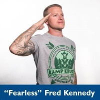 "Photo of ""Fearless"" Fred Kennedy."