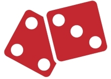 Image of two red dice.