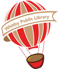 Image of Whitby Library hot air balloon.