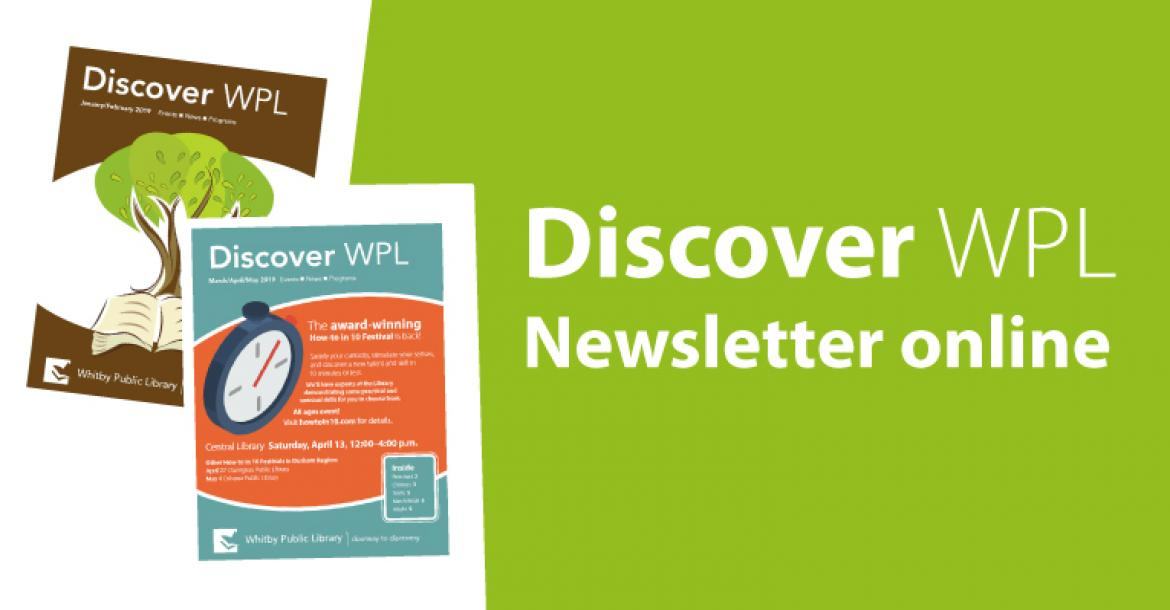 Image of Discover WPL May and June 2017